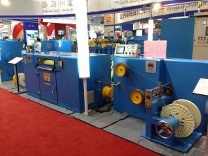 China High Speed Wire Twisting Machine Sky Blue φ400×φ25×276 Pay Off Bobbin on sale