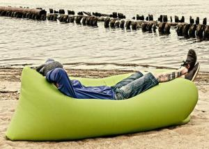 China Summer Outdoor Beach Lounge Lazy Bag Inflatable Camping Lamzac Hangout Air Sofa on sale