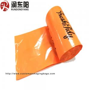 China Eco Enviromental Custom Printed Resealable Bags Flushable 100% Biodegradable for dog poop on sale