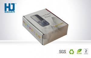 China Folding Smartphone Packaging Corrugated Box , Custom Cell Phone Packaging Gift Boxes on sale