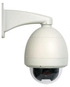 China Wireless WiFi PTZ Speed Dome Camera MJPEG With Motion Detection , Pan355° Tilt90° on sale