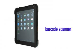 China Waterproof Rugged Tablet With Barcode Scanner , Android Barcode Scanner Tablet on sale