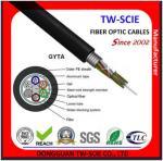GYTA SM Layer Stranded Outdoor Fiber Optic Cable Steel Wire Metallic Strengthen Member