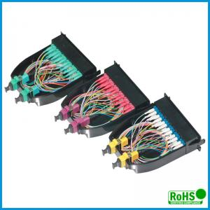 China Wall Mounted Fiber Optic Termination Box With SC Simplex / LC Duplex Adapters on sale