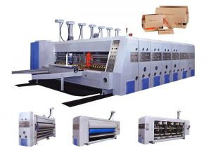 China Automatic Corrugated Carton Box Making Machine / Flexo Printing Machine on sale