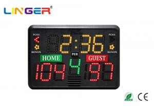 China Custom Portable Electronic Scoreboard With Aluminum Frame , Portable Cricket Scoreboard on sale