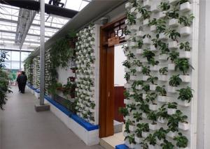 China Good Light Transmission Sustainable Greenhouse PVC Pipe Hydroponic Frame Material on sale