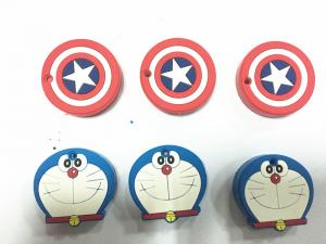 China New Design Tracker Position Keychain / Cartoon Cat Silicone Rubber Soft PVC Keychain on sale