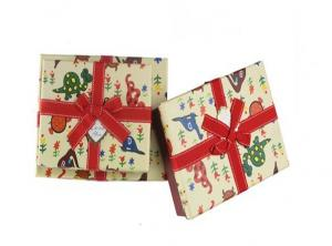 China Offset Printing White Watch Apparel Gift Boxes Packaging , Hypotenuse Lid Boxes on sale