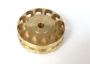 China Copper Material Machining Small Metal Parts , Automobile Use CNC Mechanical Parts on sale