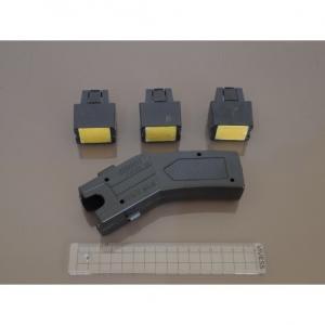 Taser Gun With Laser Light (Three Cartridges) 800KV Stun