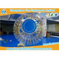 New Design One Entrance 0.7mm TPU Inflatable Zorb Ball With Zipper