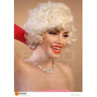 China Classic Hollywood Actress Sex Lady Marilyn Monroe Wax Figure Realistic Wax Sculptures on sale