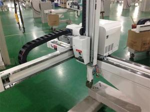 China Disposable Spoon Fork Knife Taking Out Industrial Manipulator Arm High Speed Fully Servo Motor on sale