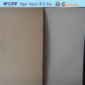 China Cellulose Paper Insole Board with EVA on sale