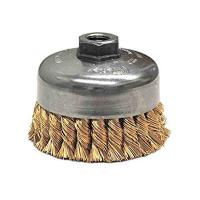 China Industry Rust Cleaning Twist Knot Wire Brush Steel / Metal Base Material on sale
