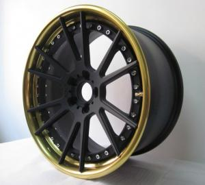 China BSL01/3 piece wheels /step lip/forged wheels/front mount rims/Aluminum 6061 on sale
