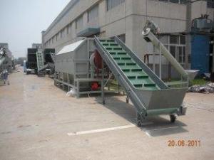China ACARICIE el triturador de la prensa de la botella, removedor de etiquetado, una línea más seca máquina de reciclaje plástica de la basura on sale