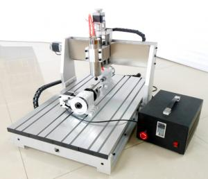 4th Axis cnc router / desktop cnc router For 3d Milling