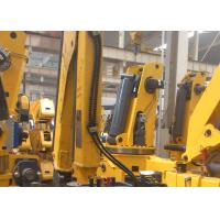 XCMG Knuckle Boom Truck Crane , 1400kg Wire Rope Raise