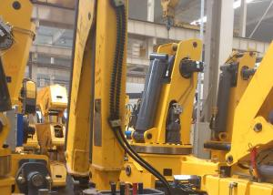 China XCMG Knuckle Boom Truck Crane , 1400kg Wire Rope Raise on sale