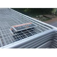 Hot Dipped Galvanized Temp Fence Panels Freestanding Fence Panels Sunshine Resistance