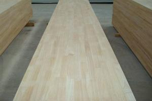 China sell rubberwood finger-jointed panels, edge-glued panels on sale