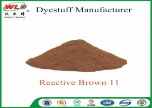 China 100% Strength Powder Tie Dye Reactive Brown 11 dip dyeing ISO Approve on sale