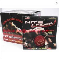 Red Color Nite Rider Nighter rider Maximum Male Libido Sexual Enhancer Pills For Men