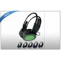 China Custom USB Micro SD Card Audio Cable Earphones , Wireless SD Card Headphones on sale
