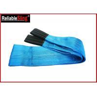 Polyester Flat Webbing Slings 8 Ton Flexible Heavy Duty Lift Sling