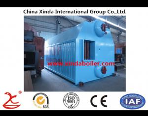 China Double Drum Chain-grate Coal-fired Hot Water Boiler on sale