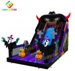 Halloween Inflatable Bouncer Slide Jumping Castles Slides Bouncer on Playground