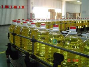 China Automatic 5L Edible Oil Filling Machine With Screw Cap , Oil Bottle Filling Machine on sale