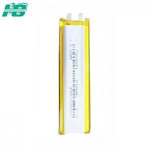 China Soft Pack 702380 Li Polymer Battery 1700mah , Rechargeable Led Lithium Battery on sale