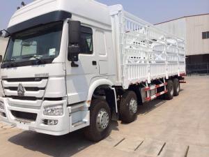China Warehouse Type Cargo Stake Truck SINOTRUK HOWO 8X4 LHD Euro2 371HP General Cargo Trucks on sale