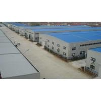 China S275 Workshop Steel Structure- 7000㎡ with White Color And Windows And Doors on sale