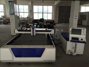 China Metal Laser Cutting Machine with Power 500W and Cutting Size 1300 × 2500mm on sale