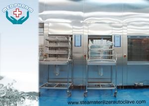 China Hospital Sterilization Sterilizer With Emergency Stop Switch And Over - current Protection Function on sale