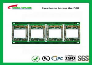 China LCD PCB Multilayer four layer PCB 0.3mm surface treatment immersion gold on sale