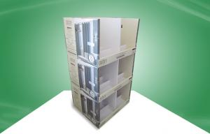 Promoting Curtain PDQ Trays Double - Wall Corrugated Paper