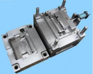 China Hot Runner Custom Injection Molding , Injection Molding Processing Customize Size on sale
