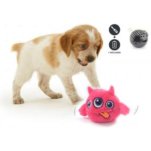 China Motion Activated Bouncing Cool Dog Toys , Eco Friendly Plastic Plush Dog Ball on sale