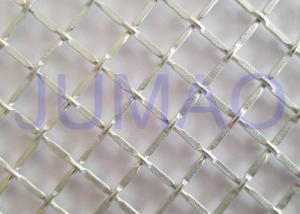 China 1/2 Inch Opening Decorative Wire Screen, Galvanized Steel Cabinet Mesh Grilles on sale
