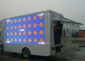 China Bus / Truck Custom LED Screens PH10 Outdoor LED Video Display RoHS Certification on sale