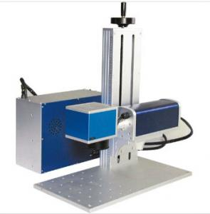 China Portable Laser Engraving Machine For Jewelry , Handheld Laser Marker Blue Color on sale