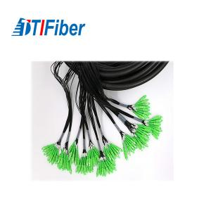China LC APC Connector Single Mode Fiber Pigtails Multi - Core For Communication Network on sale