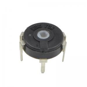 China PTK10 7 Pin Potentiometer , Rotary Switch Potentiometer For Industrial Electronics on sale