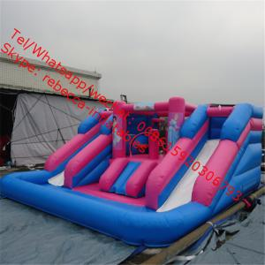 China inflatable water slide Slide  jumping castles inflatable water slide on sale