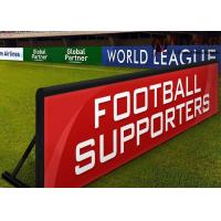 P10 Outdoor Football Stadium LED Display Banners For Perimeter Advertising